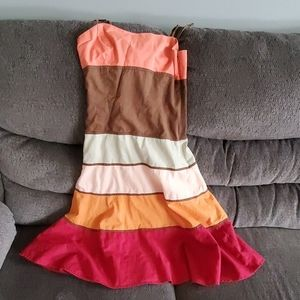 BcBg Maxazria Striped Summer Dress